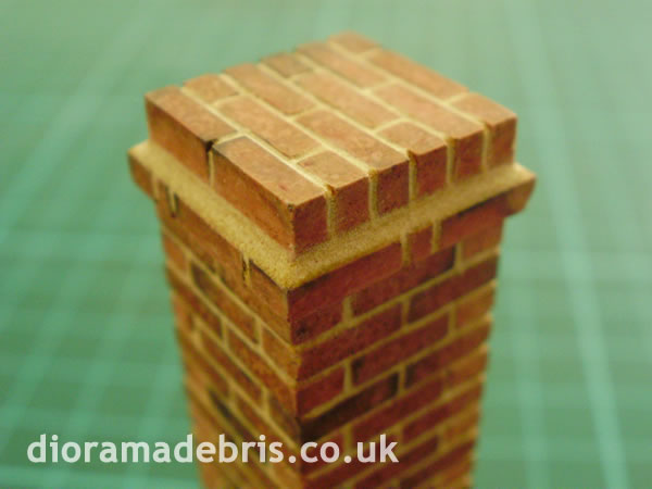 1 35 Scale Pier Caps Amp Wall Coping Brick Mould 0350069